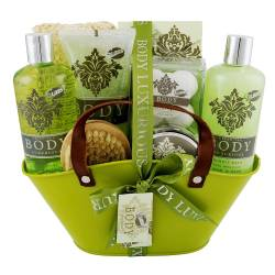 Coffret de bain au parfum relaxant de thé vert - 13pcs