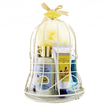 Coffret de bain parfum gourmand des amandes au miel - 7pcs
