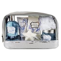 Coffret de bain parfum léger de fleurs de coton - 6pcs