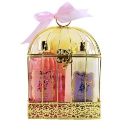 GLoss - Coffret cadeau de bain pour Femme - Cage en métal avec lotion corporelle - Collection W/R - Rose,Jasmin & Magnolia