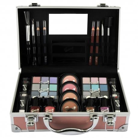 Gloss - Mallette de maquillage - Collection Paparazzi des Stars - Rose Fashion - Idée cadeau beauté