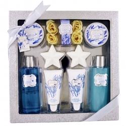 Gloss - Coffret cadeau de Bain - Collection Sparkling Bliss - Fleur de Coton