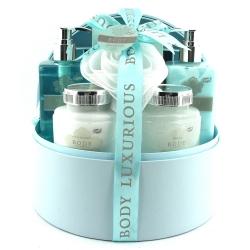 Gloss - Coffret De Bain Pour Femme - Boîte à bijoux - Collection Body Luxurious - Verveine