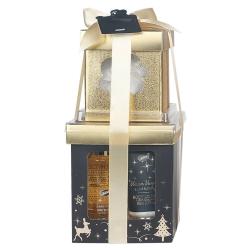 Coffret cadeau de bain à la Vanille et au Tilleul - Boîtes gigognes