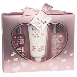 Gloss - Coffret de bain à la rose - Idée cadeau pour femme