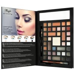 Palette de maquillage en forme de Book avec des tutos - Collection Magic Color