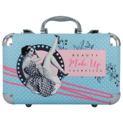 Mallette de maquillage XXXL incluant 2 vernis - Pin-up Girl