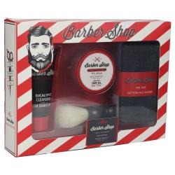 Coffret rasage et bain pour homme - Barber Shop - Eucalyptus