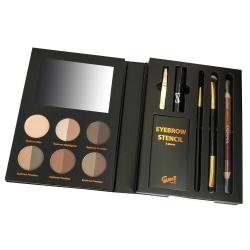 Coffret Make-up doré - Regards smoky avec son Kit à sourcils