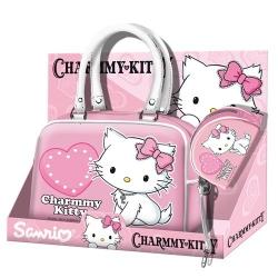 Hello Kitty Ensemble sac à main et porte monnaie rose