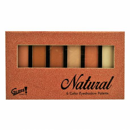 Palette de maquillage - Ombres à paupières couleurs camaïeu de orange