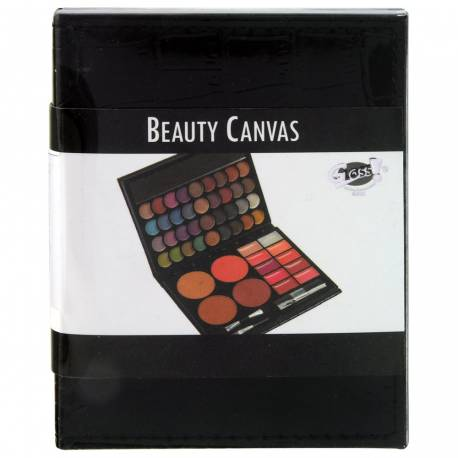 Palette de maquillage Canvas noir - 51pcs