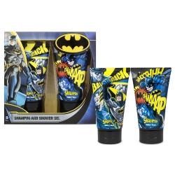 Batman Coffret enfant avec gel douche et shampoing 2x150ml