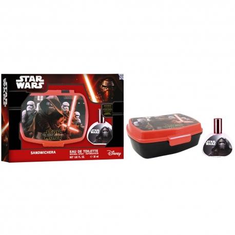 Coffret Star Wars avec eau de toilette 30ml et une lunch box