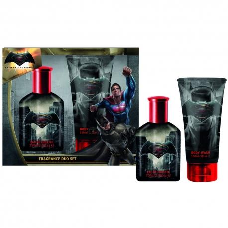 Batman Coffret enfant eau de toilette 50ml, gel douche 150ml