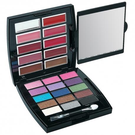 Palette de maquillage ombres à paupières noir - 26pcs