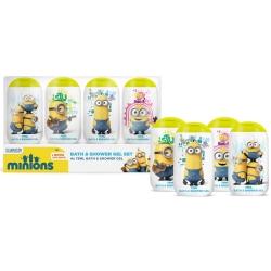 Minions Set de voyage enfant avec 4 gels douche de 75ml