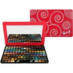 Palette de maquillage Make Up Pad rose - 123pcs