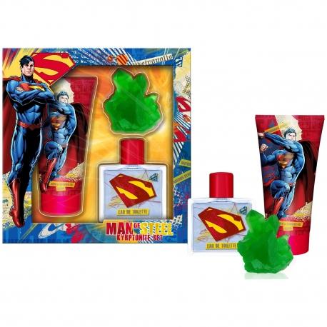 Superman Coffret enfant avec eau de toilette 50ml - 3pcs