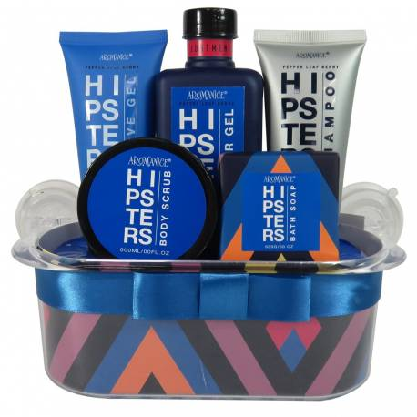 Corbeille de Bain HIPSTERS - 5 pcs - Gloss!