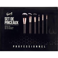Coffret beauté - Set de pinceaux incluant 2 éponges à maquillage