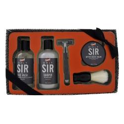 Coffret de rasage au doux parfum eucalyptus - 5pcs