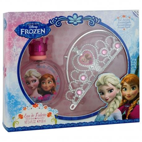 Reine des Neiges Coffret enfant avec eau de toilette et diadème - 2pcs
